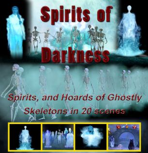SPIRITS OF DARKNESS - DIGITAL DOWNLOAD OR USB